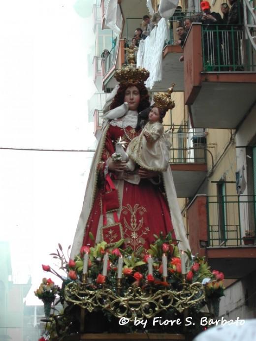 La Conquistadora in Santa Fe, NM.