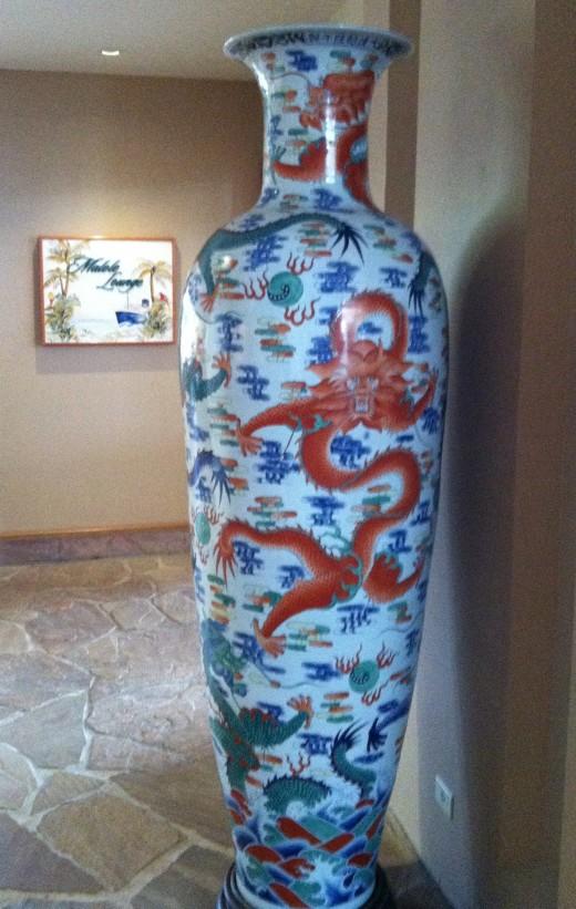 8-Foot Tall Vase