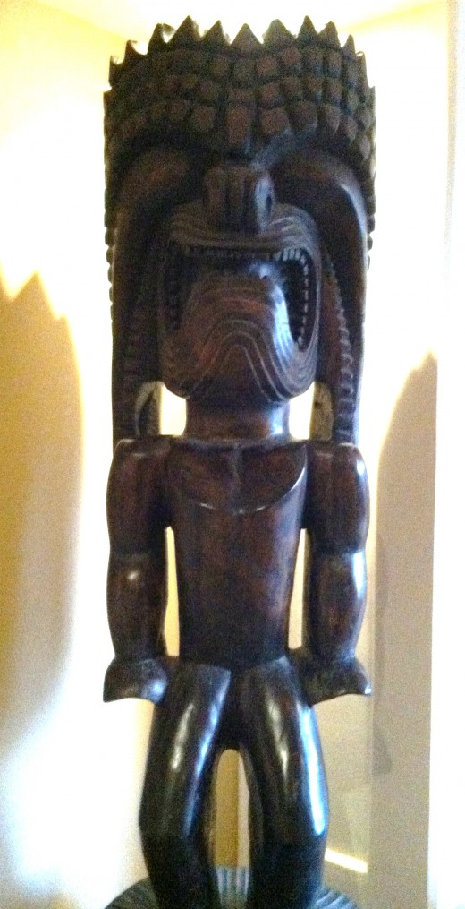 Polynesian Tiki Figure