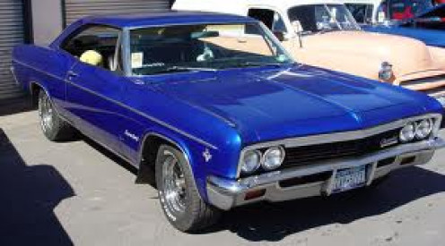 Skye hated her blue Chevy Impala with black interior --- even though it saved her from the murderer.