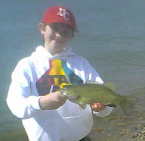 Nothing Like A Nice-Sized Ohio River Smallmouth Bass to Herald the Arrival of Spring.