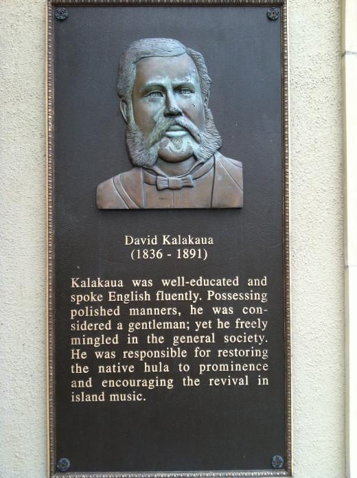 Memorial Tribute to King David Kalakaua