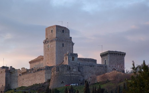 Rocca Maggiore Castle, Assisi