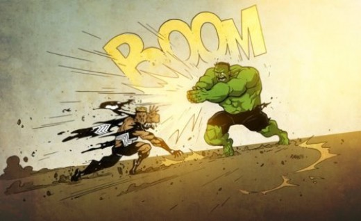 Incredible Hulk thunderclap boom attack