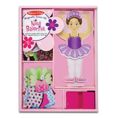 Popular dress up doll made by Melissa and Doug!