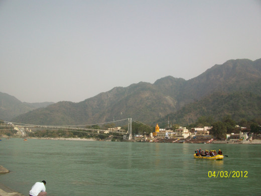 Rishikesh, India, Travel locations