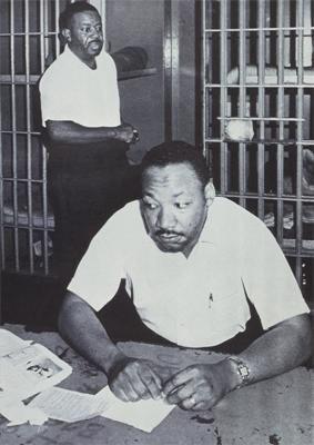MLK, Jr. in Jail w/ Ralph Abernathy