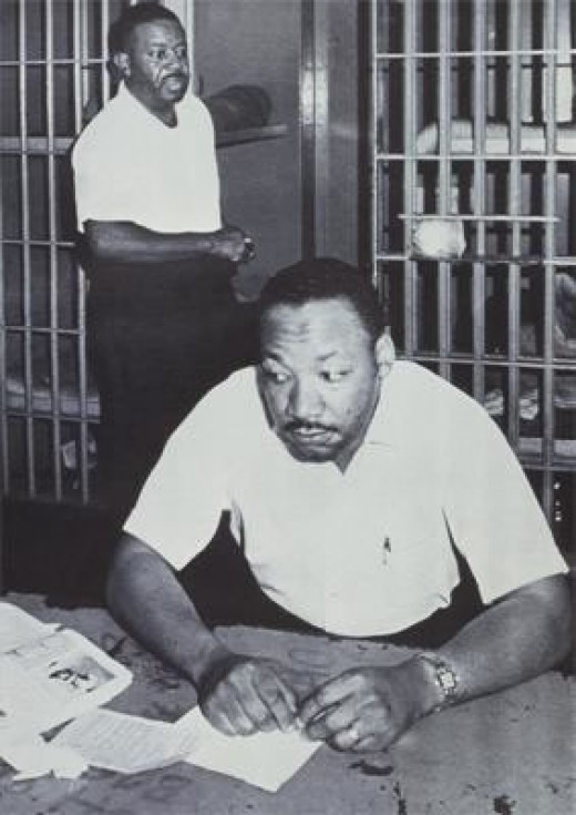 MLK, Jr. in Jail w/ Ralph Abernathy