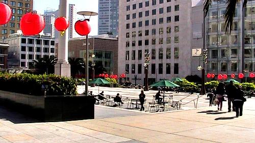 San Francisco Union Square Gary & Powell