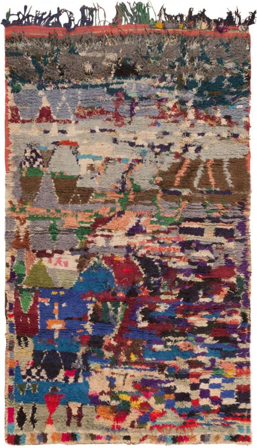 Rugs like this Moroccan are woven with the culture of an entire people.