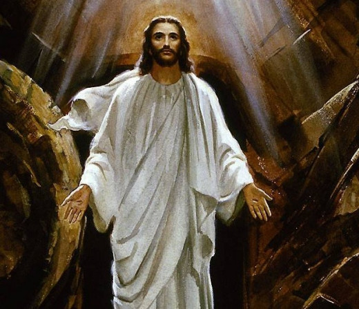 """""""25 Jesus said to her, """"I am the resurrection and the life. He who believes in Me, though he may die, he shall live. 26 And whoever lives and believes in Me shall never die. Do you believe this?"""""""" John 11:25-26"""