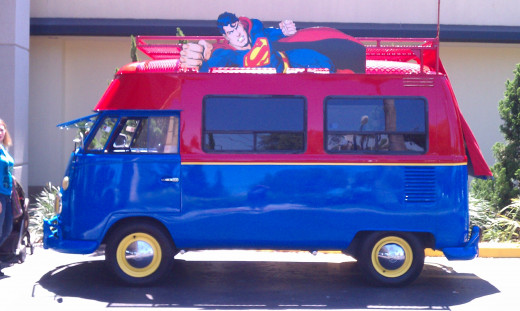 SuperVan side view