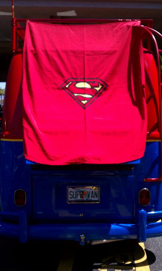 SuperVan back view