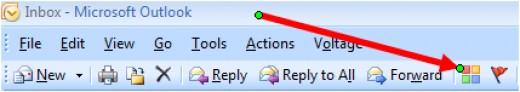 The Category button in Outlook 2007 and Outlook 2010.