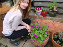 Brighten up your garden with your home made plant pot