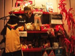 The shop's naughty corner.
