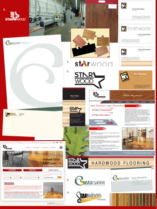 Brand Identity Design Project for Construction Company.