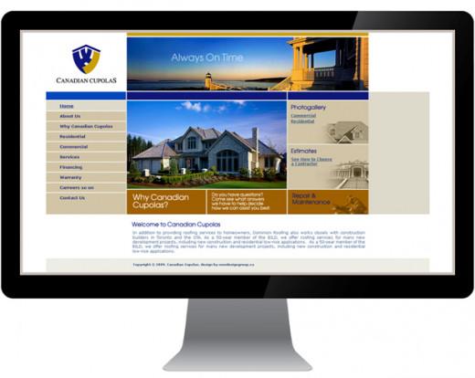 Roofing Contractors Website Sample