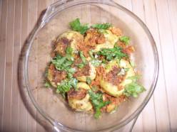Stuffed bharwa tinda recipe-round gourd recipe
