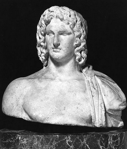 Alexander the Great had Great Hair