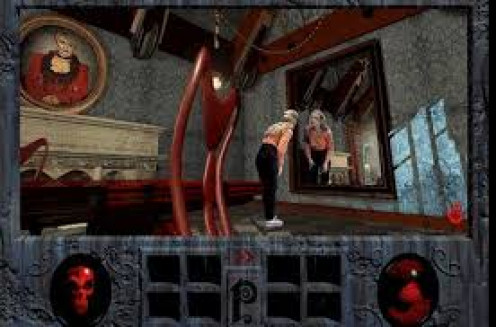 Phantasmagoria was made for PC and the Sega Saturn. This video game is rated M for Mature and it features a demonic plot.