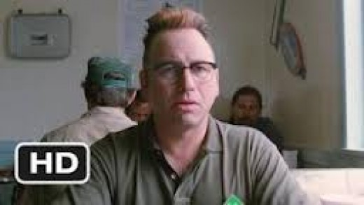 John Ritter co-starred in Sling Blade shortly before he died.  In general he played more comedic roles and in this film, he played a more serious character.  R.I.P. John Ritter.