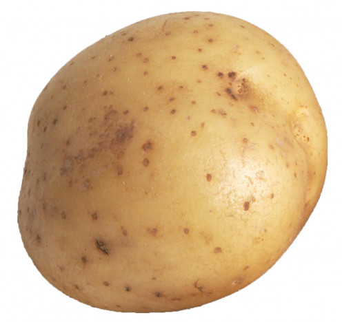The humble spud - you can get one in the UK for about 20p.