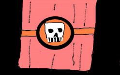 The bad mark. the death's head ring of The Phantom.
