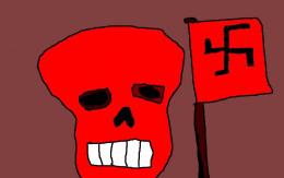 THE RED SKULL - NAZI BAD GUY!