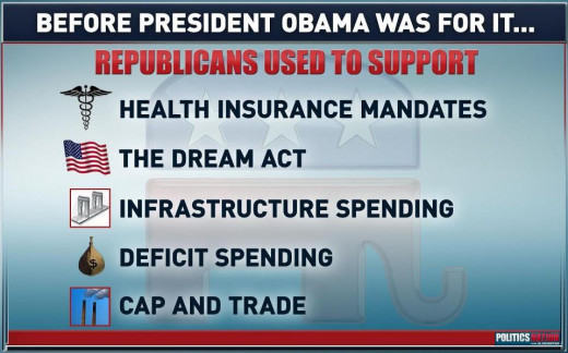 Republican ideas they hoped President Obama didn't try.