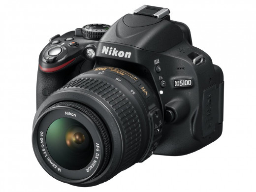 The advanced handling in low-light conditions – made possible with the PSAM exposure modes; and the CMOS 420-pixel RGB sensor – together with Nikon's impressive flash metering pick out the Nikon D5100 as a serious D-SLR option.