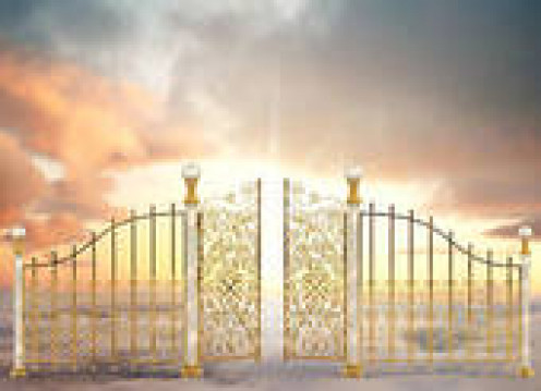 The Pearly Gates to Heaven