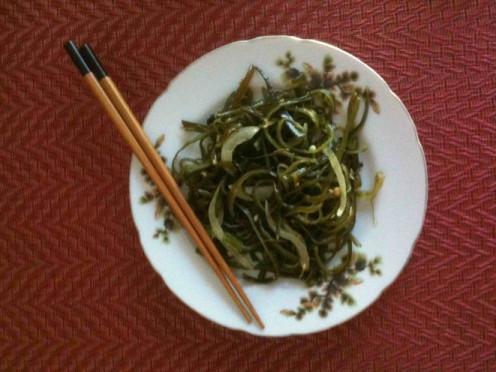 Fried Seaweed Stems
