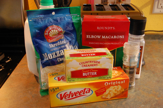everything you need to make delicious mac 'n cheese
