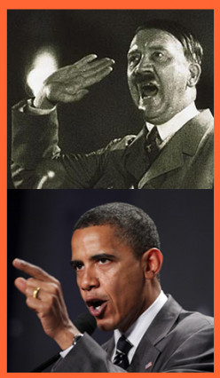 Obama / Hitler:  An Interesting Observation