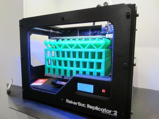 MakerBot 3D printer. Due out Q1 2013.