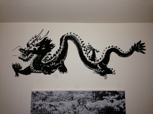 Dragon Decal For Baby
