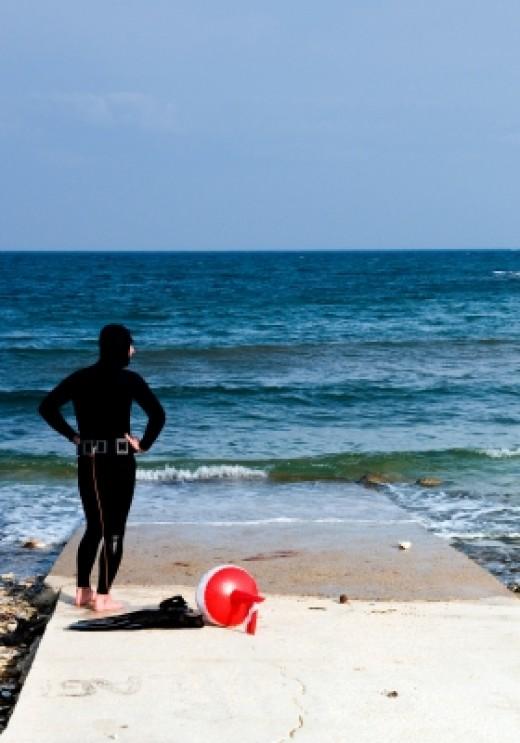 Diving with PADI