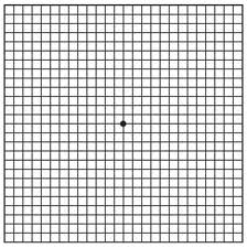 A Normal Amsler grid