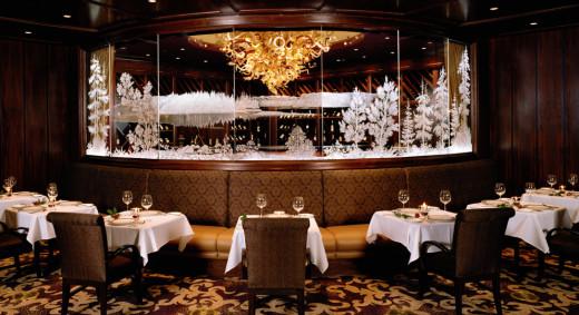 The main dining room at the Tulalip Bay Restaurant
