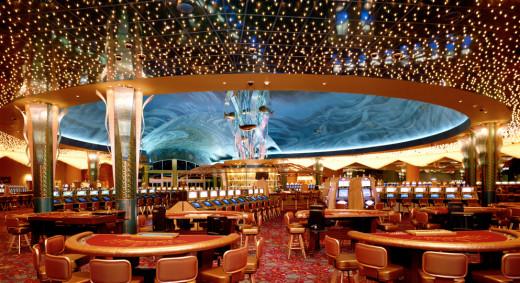 Inside the Tulalip Resort casino