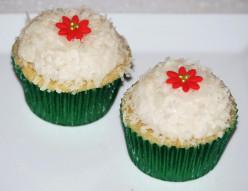 Island Bites: Vegan Coconut Cupcakes (no eggs, no dairy)