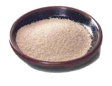 Dried yeast granules