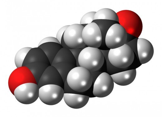 Representation of Estrogen in 3D