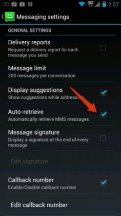 How to Disable SMS on Android