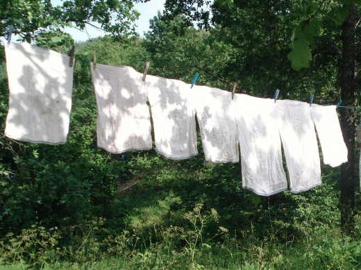 Dry your clothes for free using solar power!