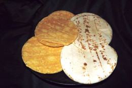 You can use corn or flour tortillas for this recipe.
