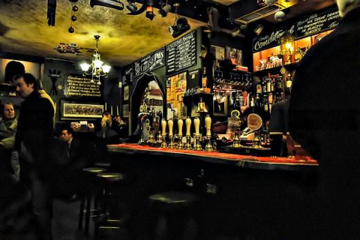 A Spooky Pub