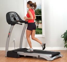 Home treadmill for running