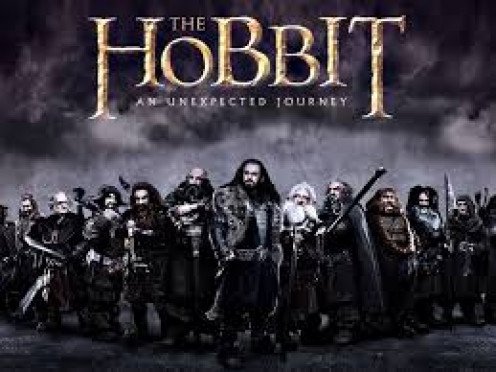 """The Hobbit: An Unexpected Journey"" based on the book by J.R.R. Tolkien."